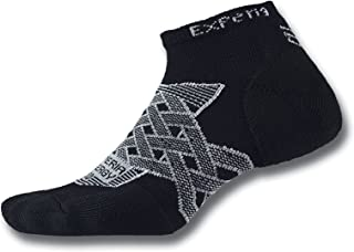 product image for Thorlos Experia Thorlo Energy Compression Running Low Cut Socks Sockshosiery, Black, Small