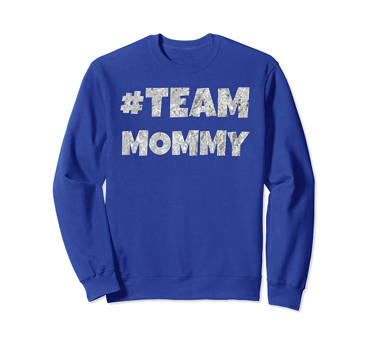 #Team Mommy Vintage Mothers Day I Love Mama Sweatshirt-alottee gift