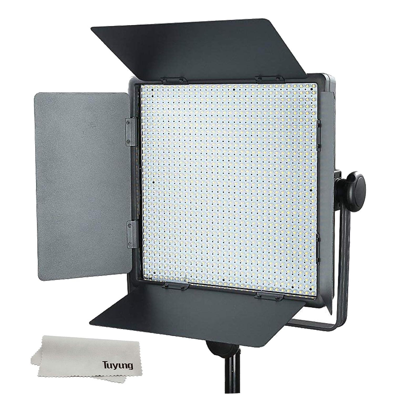 Godox 撮影機材 照明 LED 1000W ビデオライト 1024球 大光量 補助照明 撮影用ライト 輝度 調整可能 でき 定常光ライト 一眼レフ カメラ用 三脚 取り付けでき LED1000W  B06XKQ62QG