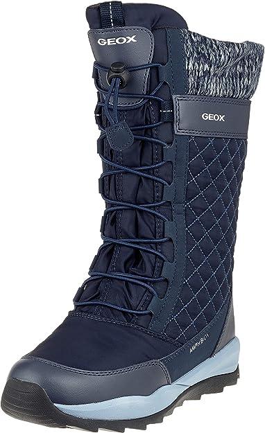 Barra oblicua comunidad Precipicio  Geox J Orizont B Girl ABX, Botas de Nieve Mujer: Amazon.es: Zapatos y  complementos