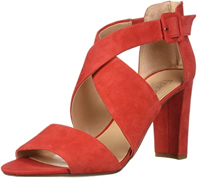 ec579abd6 Franco Sarto Women s Hazelle Pump Apple red 5 ...