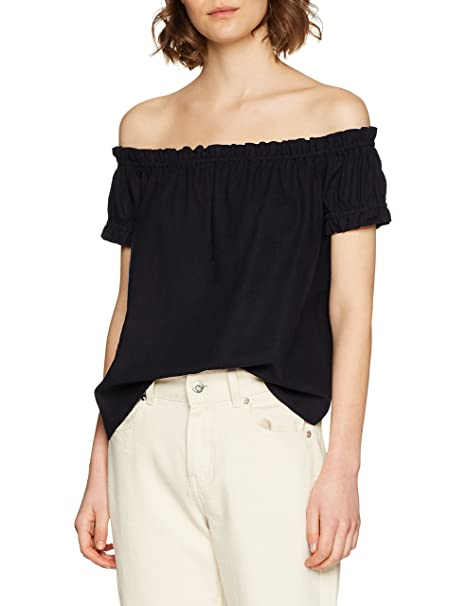 030ec89bb4a3e Vero Moda Women s s Vmasta Milo Off Shoulder Top Noos Vest  Amazon ...