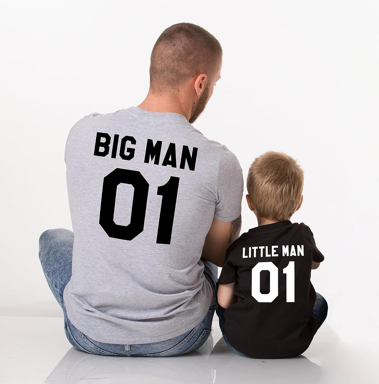 Big Man Little Man 01 Father Son Shirts
