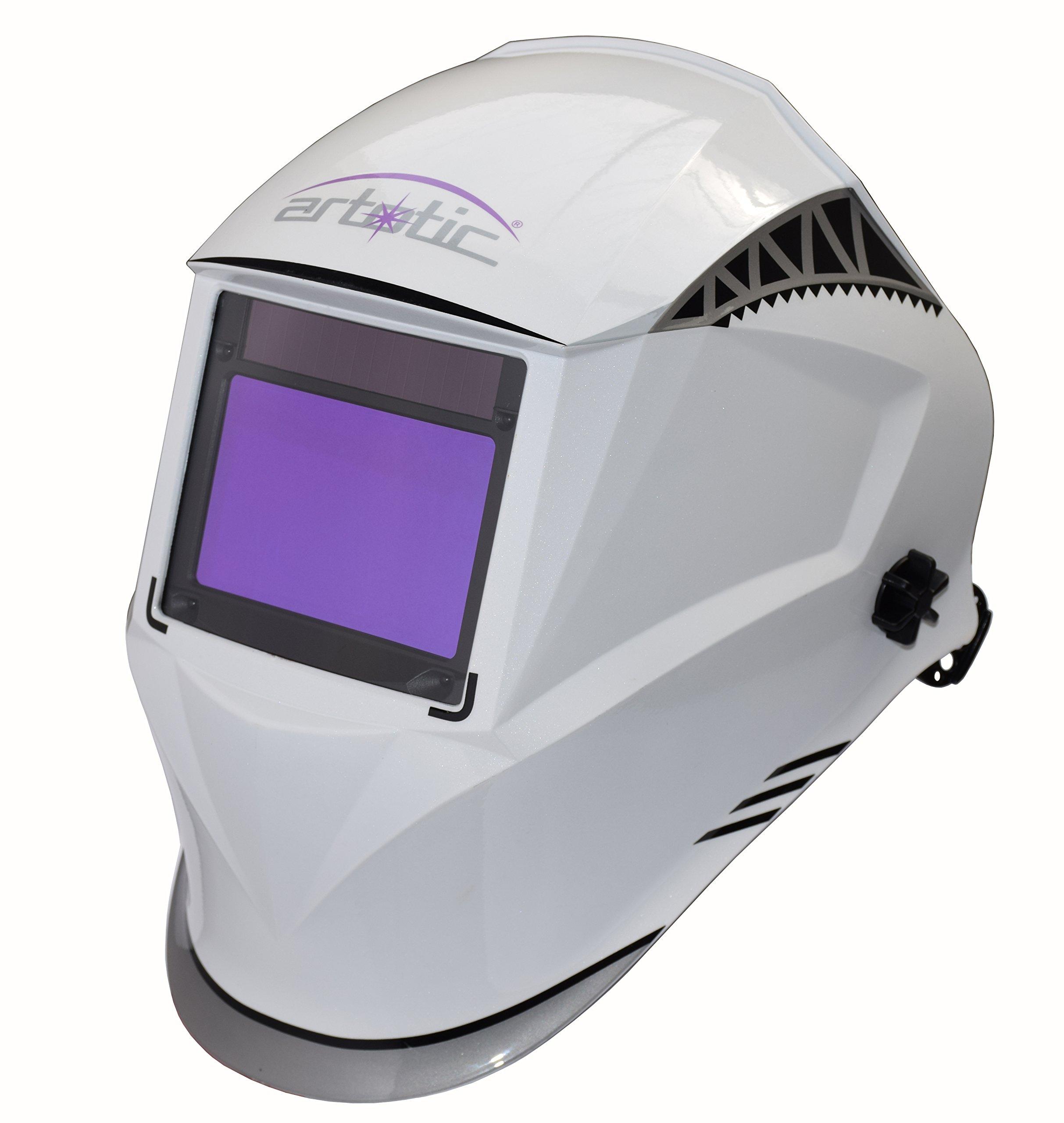 Artotic Master series auto darkening welding helmet, Shade range 3/4-13