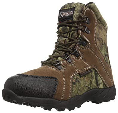 Rocky Baby FQ0003710 Mid Calf Boot, Mossy Oak Break up Infinity Camouflage,  10 M