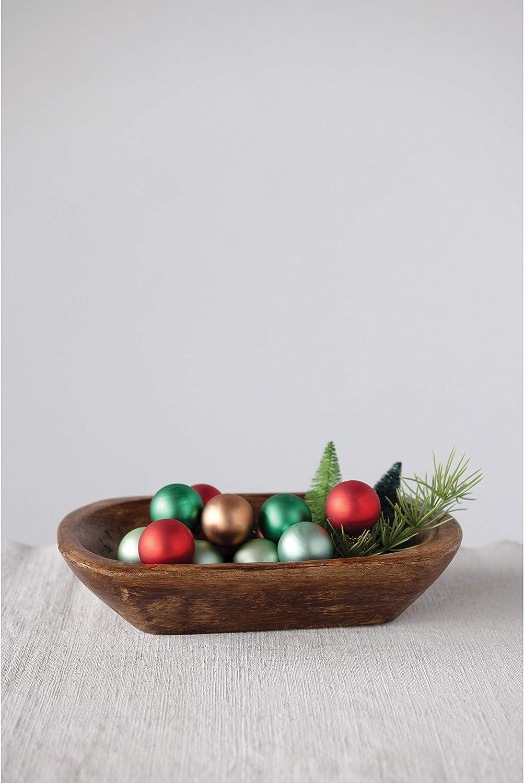 Natural Creative Co-op Mango Wood Bowls
