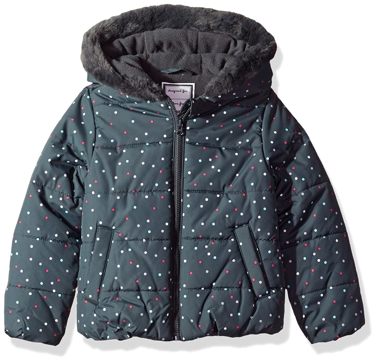 Gymboree Baby Girls' Dot Puffer Jacket