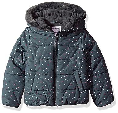 6fec4b8fc680 Amazon.com  Gymboree Baby Girls  Dot Puffer Jacket  Clothing