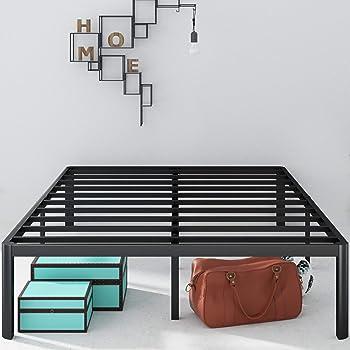 Zinus Van 16 Inch Metal Platform Queen Bed Frame