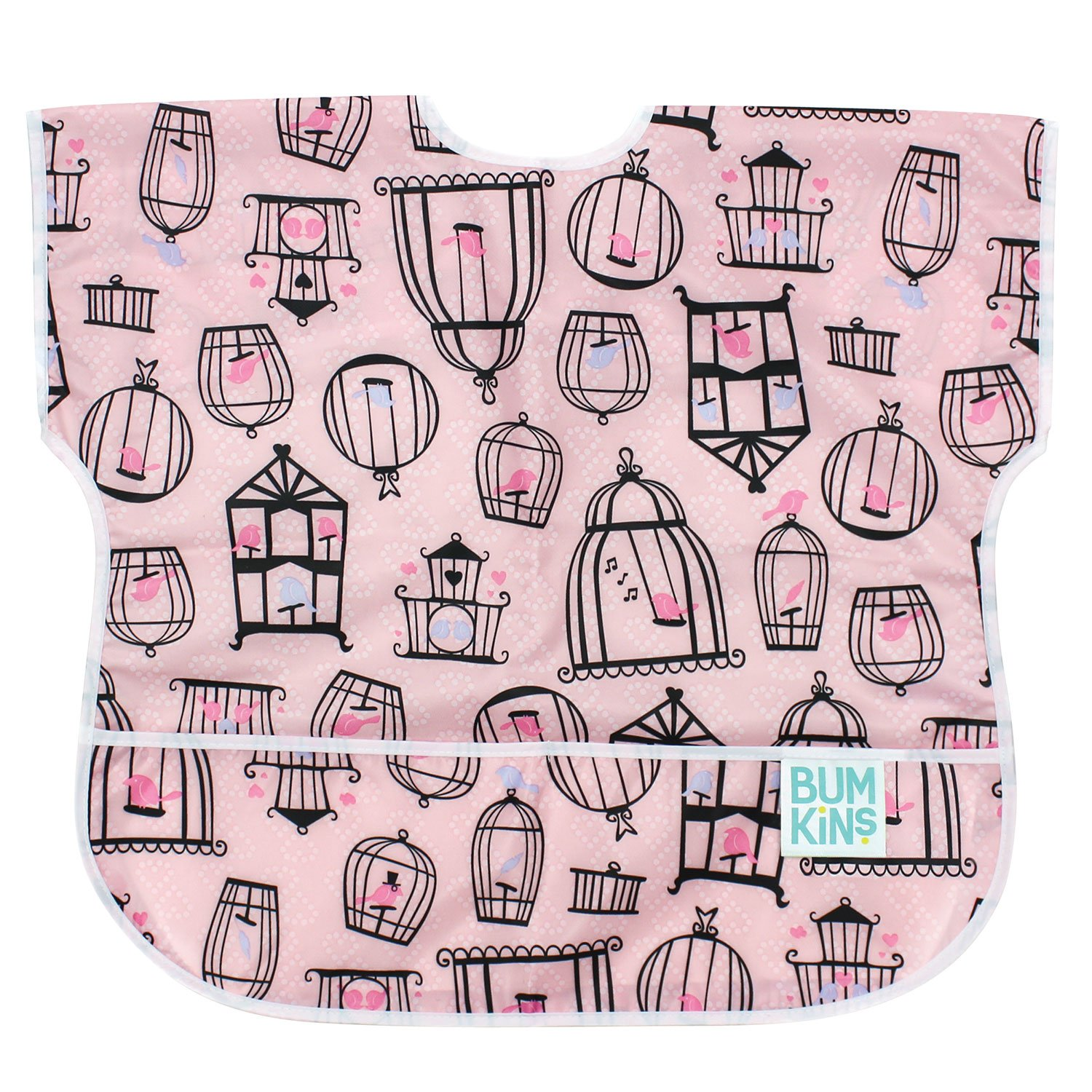 Bumkins Waterproof Junior Bib, Tweet (1-3 Years)