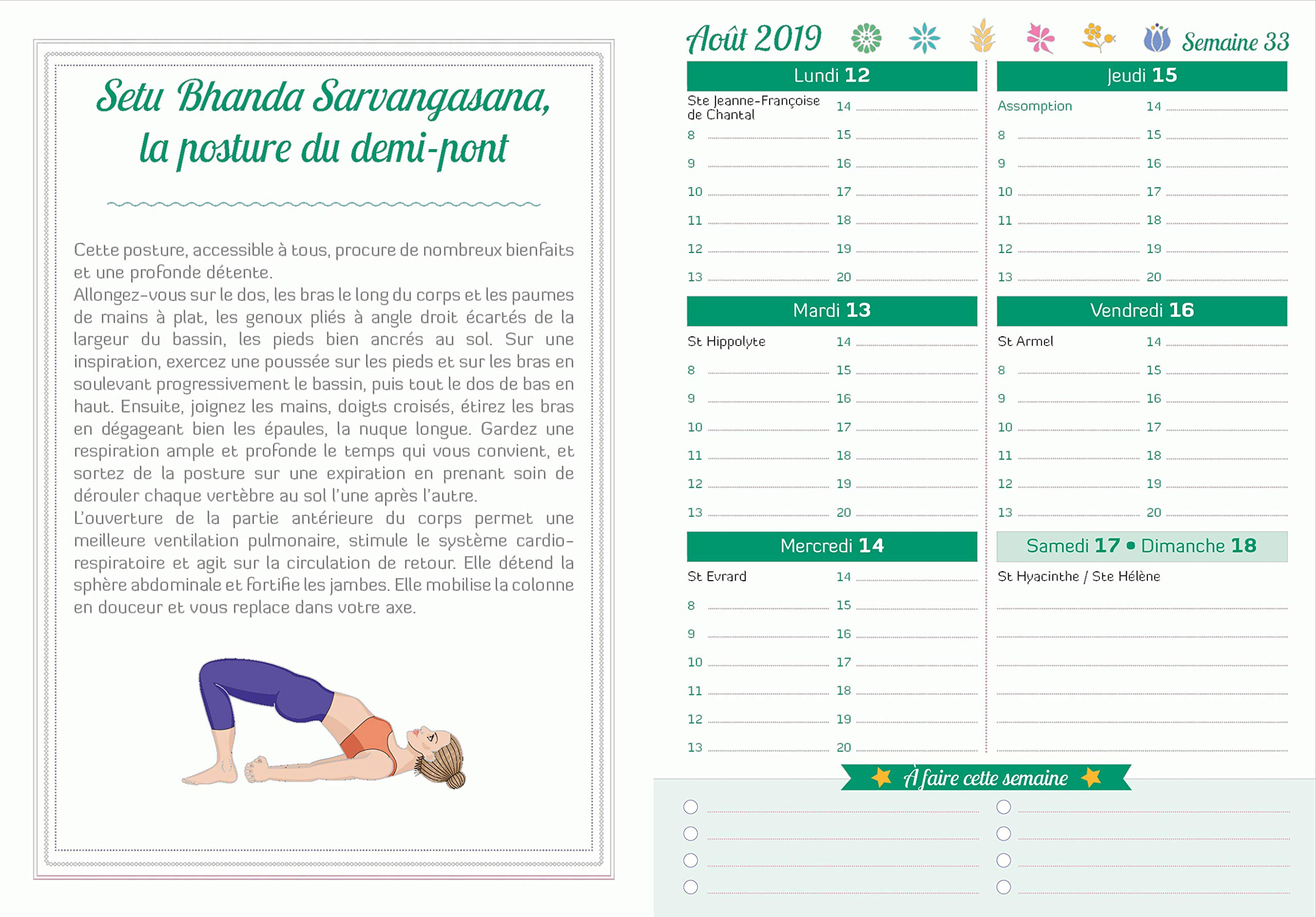 Mon petit agenda Yoga 2019: Amazon.es: Collectif: Libros en ...