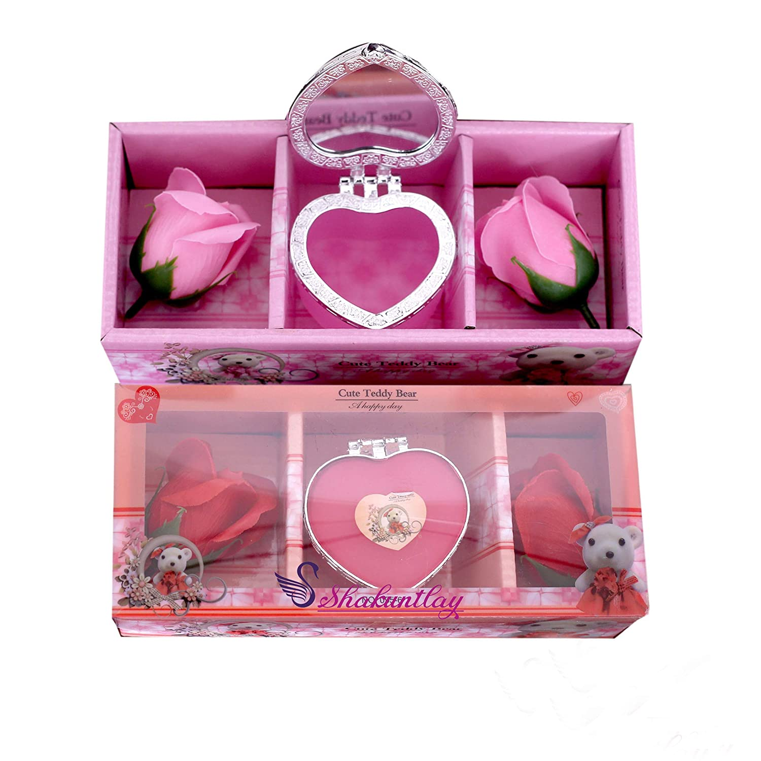 Buy Sshakuntlay Flower Jewellery Box Cute Valentine Gifts For Wife Girlfriend Boyfriend Special Anniversary Birthday Gift Online At Low Prices In India Amazon Jewellery Store Amazon In