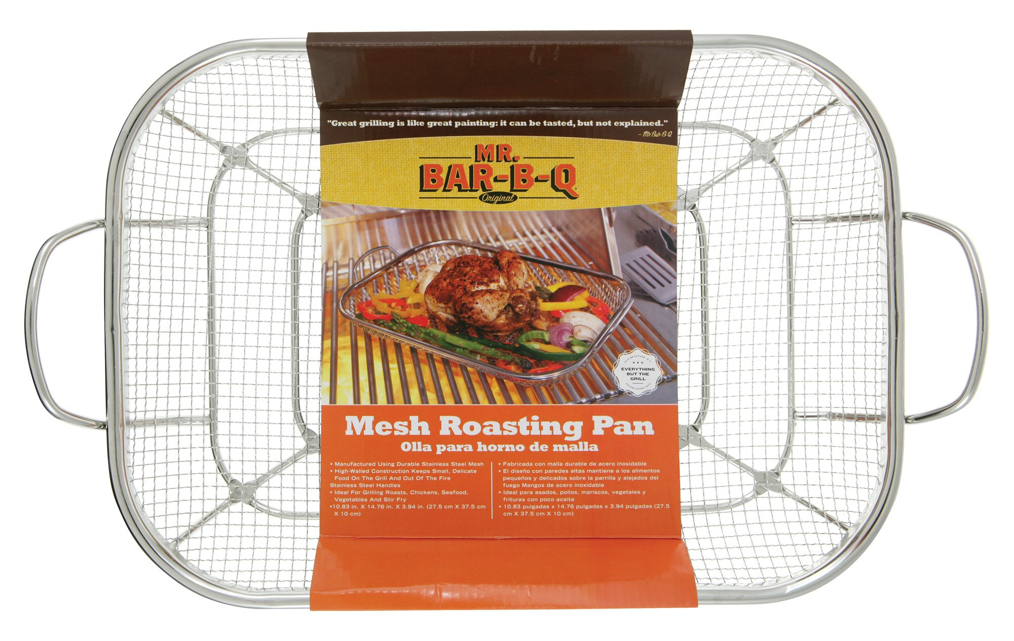 Mr Bar B Q 06805X Stainless Steel Mesh Roasting Pan product image