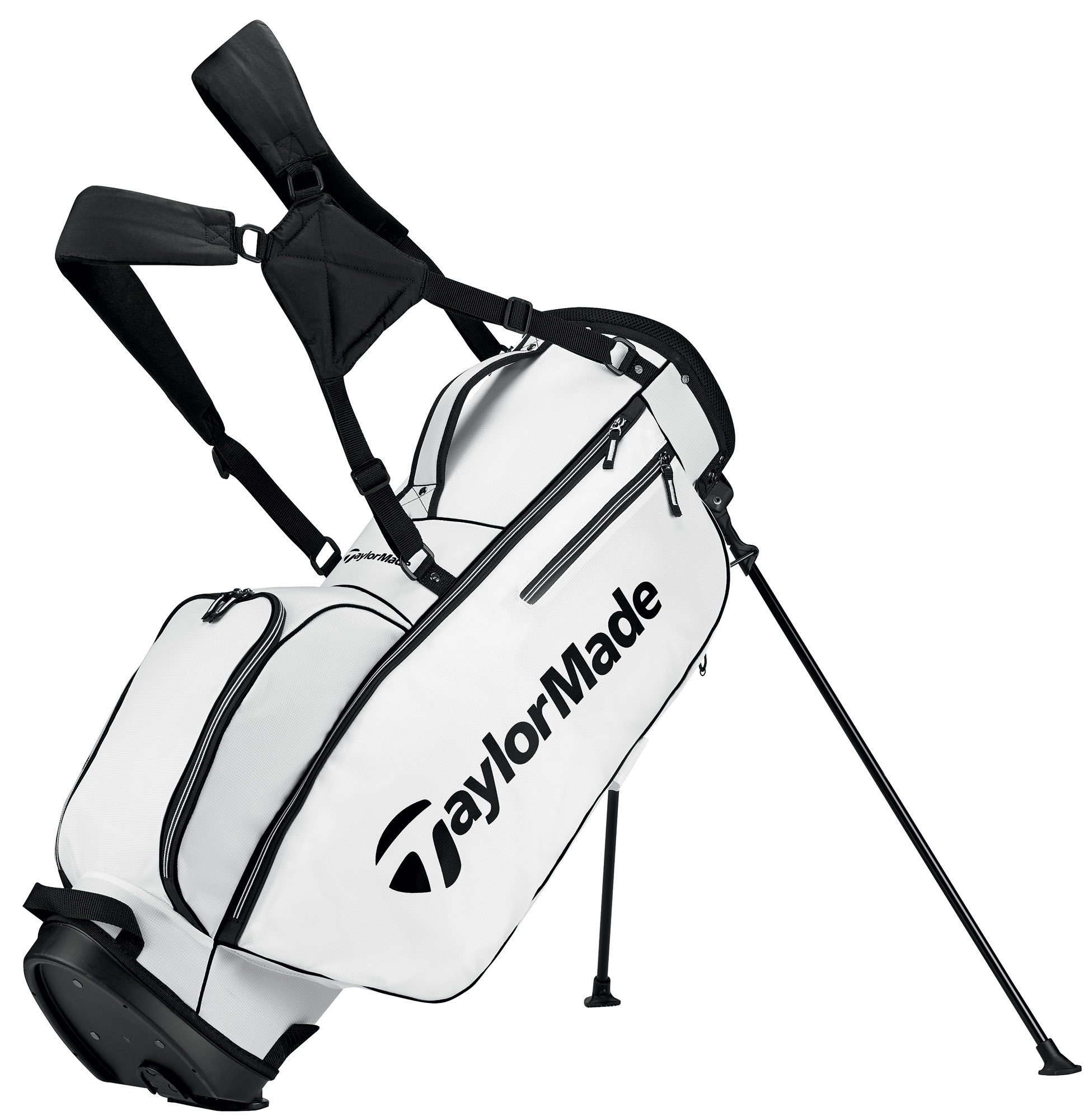 TaylorMade 2017 TM 5.0 Stand Golf Bag, White/Black by TaylorMade