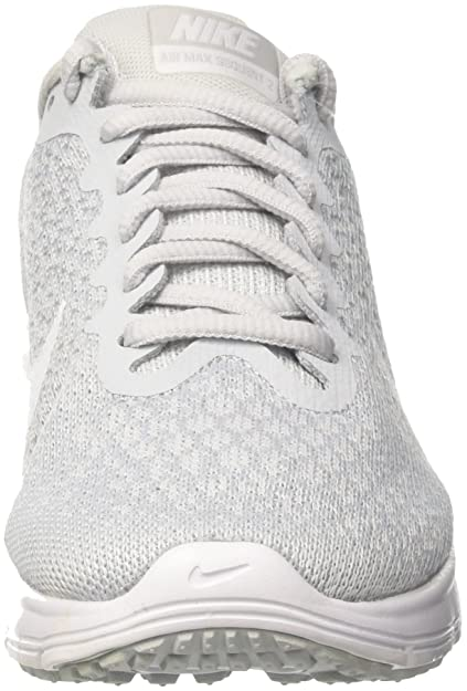 Amazon.com | Nike Air Max Sequent 2 Pure Platinum/White/Wolf Grey Womens Running Shoes Size 7.5 | Running