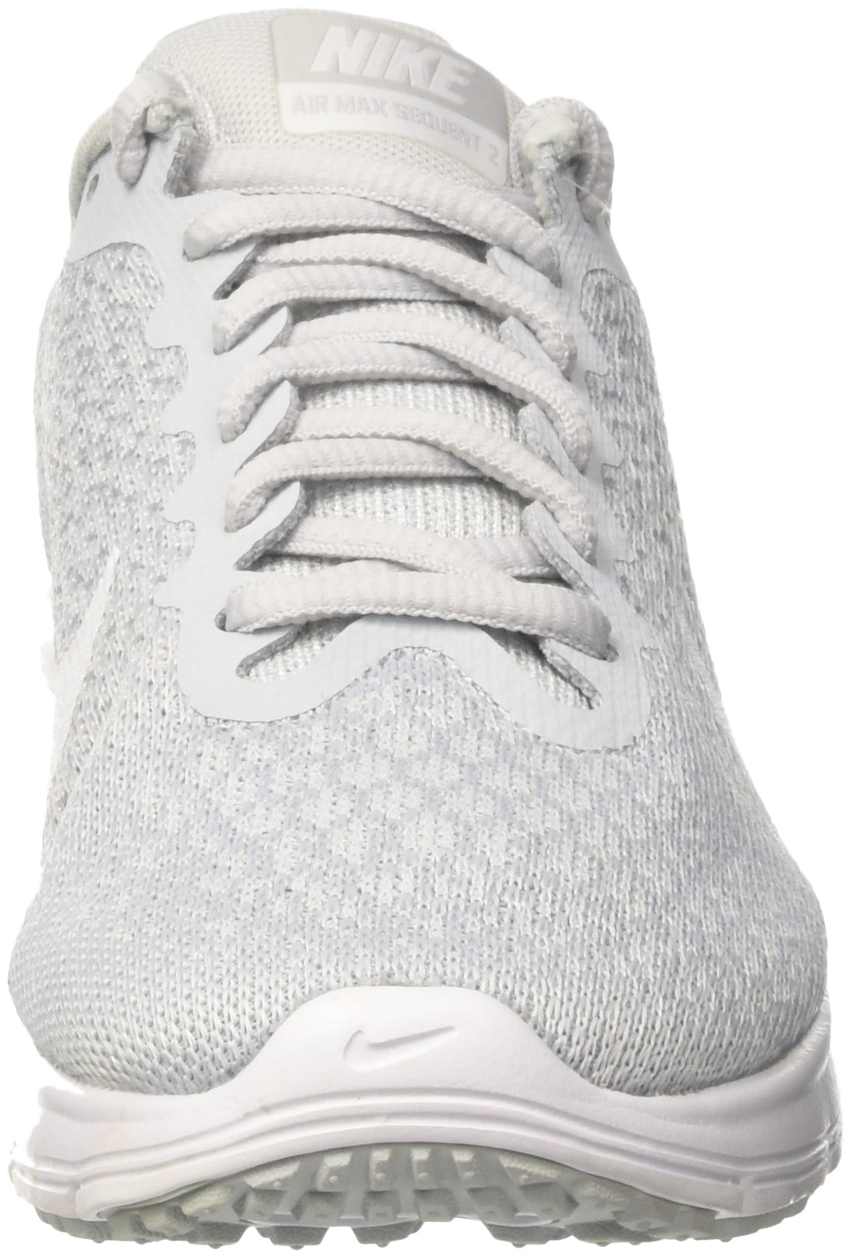 NIKE Womens Air max Sequent 2 Low Top Lace Up Running Sneaker, Silver, Size 10.0 by NIKE (Image #4)