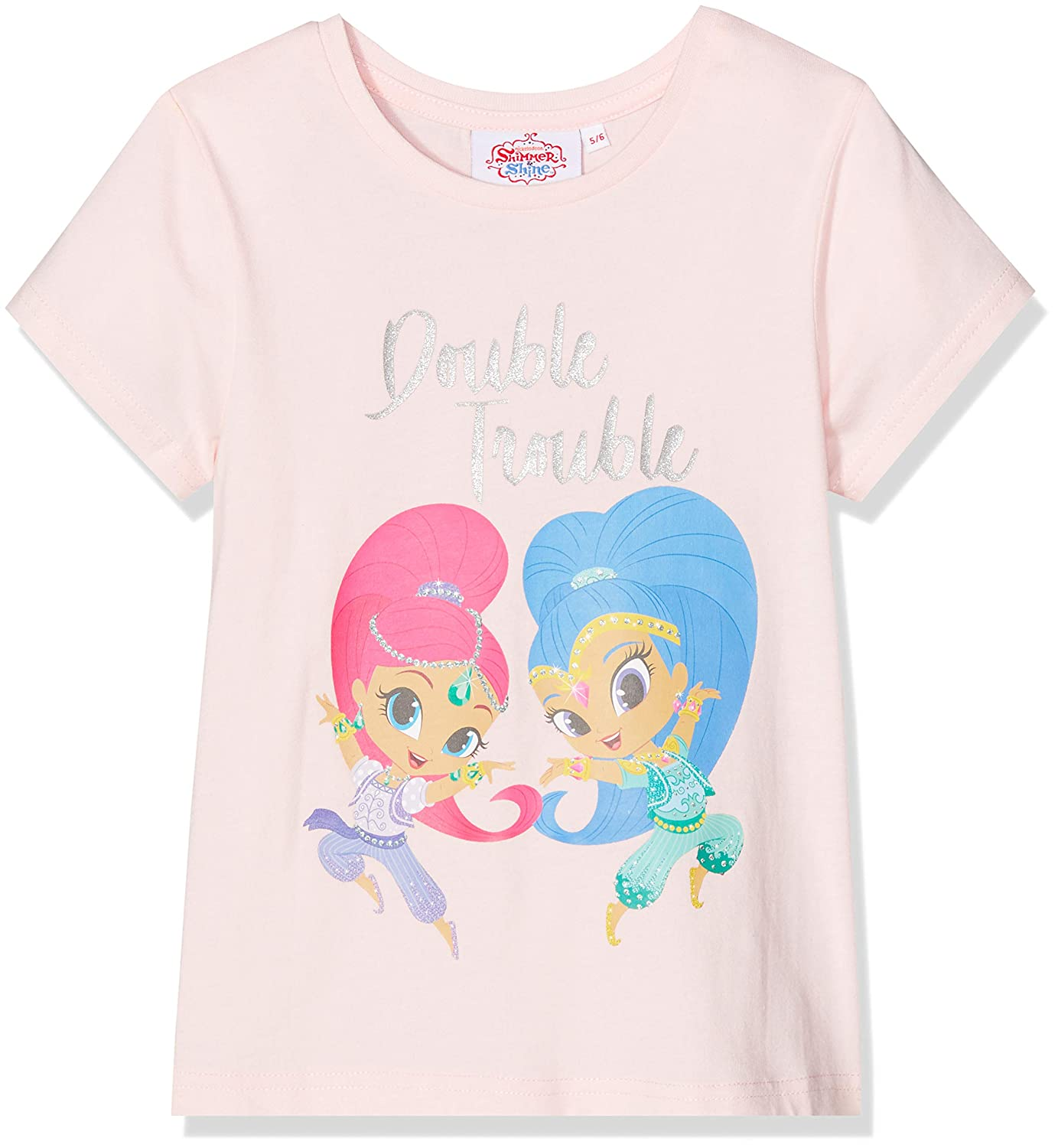 Pink Shimmer /& Shine Girls Double Trouble T-Shirt