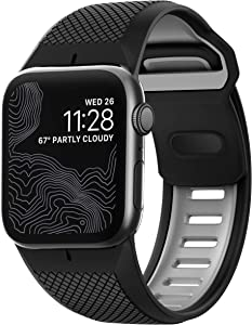 Nomad Sport Strap for Apple Watch 44mm/42mm | Black + Slate