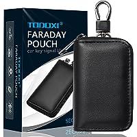 Faraday Pouch voor autosleutels, autosleutel signaalblokkering, RFID-sleutelzakje, sleutelloze autoblokker, anti…