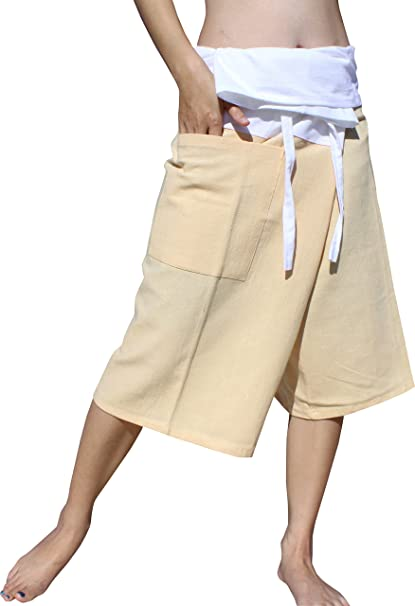 RaanPahMuang Fisherman Pants Summer Shorts Comfortable Every Day Wear Plus Size