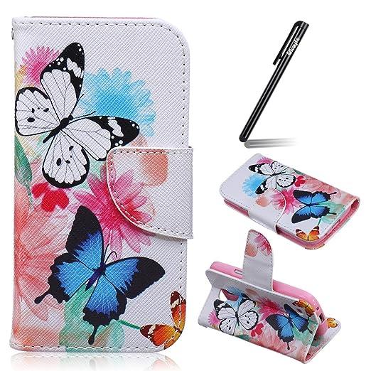 7 opinioni per Ukayfe Custodia portafoglio / wallet / libro in pelle per Samsung Galaxy S4