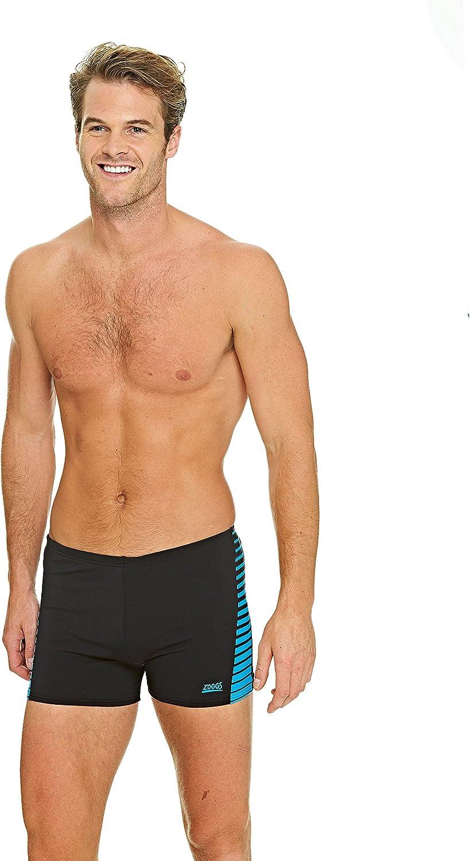 Zoggs Herren Cairns Panelled Hip Racer Badehose