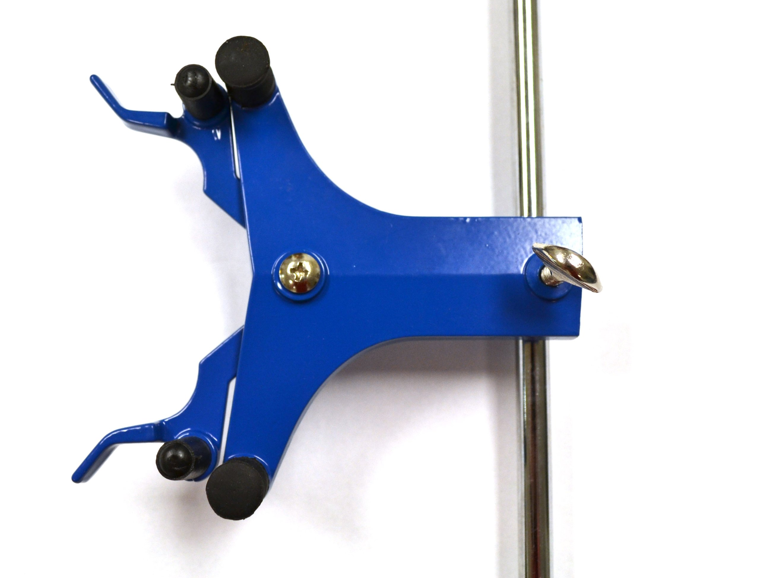Eisco Labs Burette/Tube Clamp, Single, High Strength Alloy - Spring Loaded Jaws - 7/8'' Width Capacity, Max 16mm Dia. Rod by EISCO