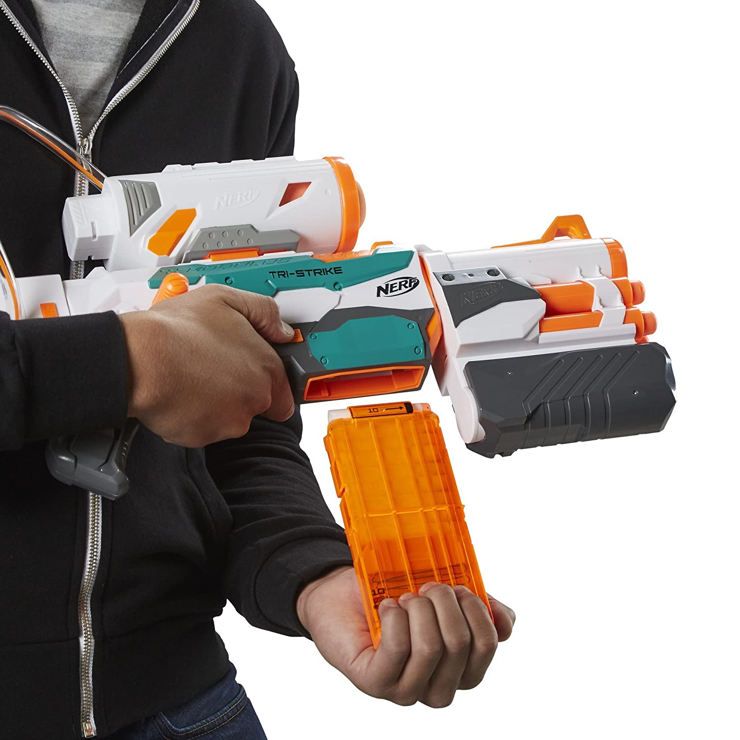 Buy Nerf Modulus Tri Strike, Multi Color Online at Low Prices in India -  Amazon.in