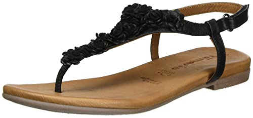 Tamaris Women's 28121 Sandals, White (White Comb 197), 7.5 UK