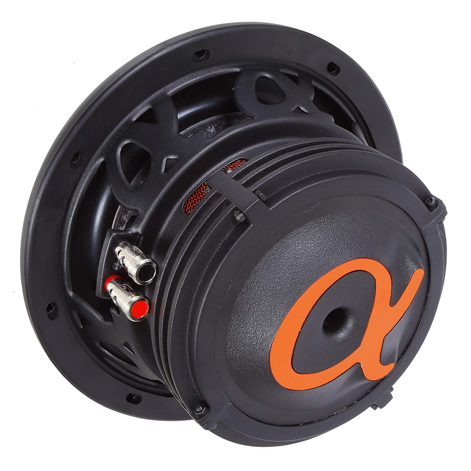 "400 Watts RMS Dual 4 Ohm Car Subwoofer w// High Grade Magnet Non Pressed Paper Carbon Stitched Cone Cooling Rings System Speaker Bass Sub Woofer Alphasonik NSW410 Neuron 400 Series 10/"" 1200 Watts Max"