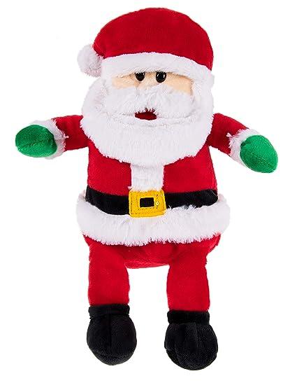 Amazon Com Blue Panda Santa Claus Plush Toy Santa Nick Kids Soft