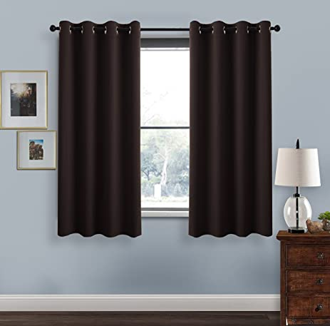 Blackout Curtains For Living Room   PONY DANCE Durable Home Dressing Window  Curtain Panels/ Drapes