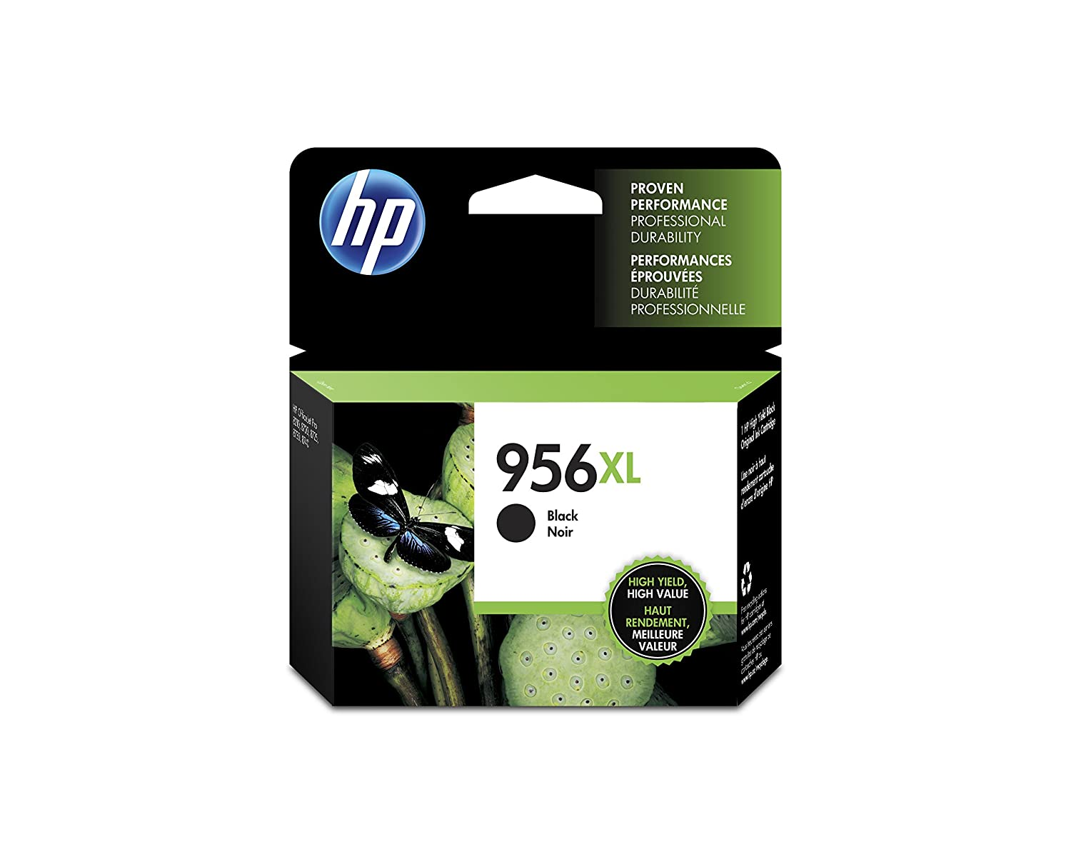 HP 956XL Black Ink Cartridge (L0R39AN)