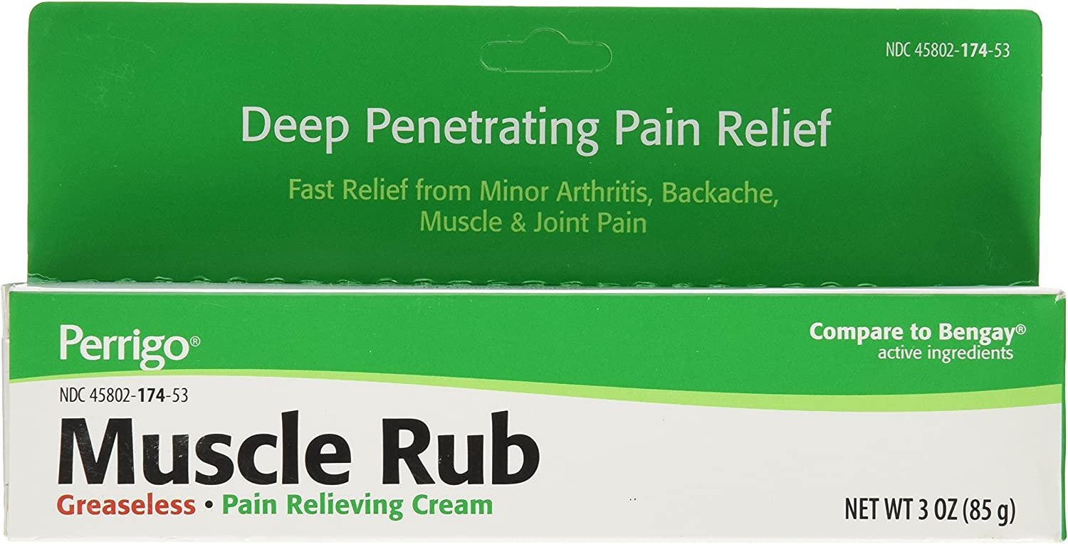 Muscle RUB Cream ***C-P Size: 3 OZ