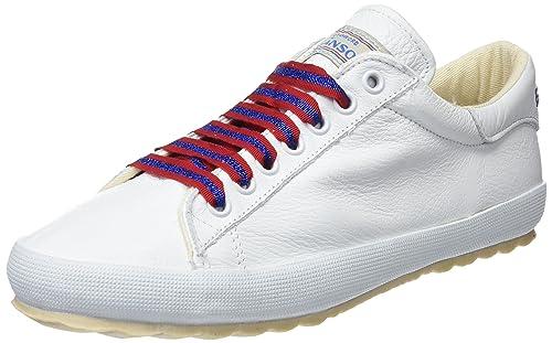 El Ganso M Zapatilla Low Top Cinta Lurex, Deporte para Mujer, (Blanco Único), 37 EU: Amazon.es: Zapatos y complementos