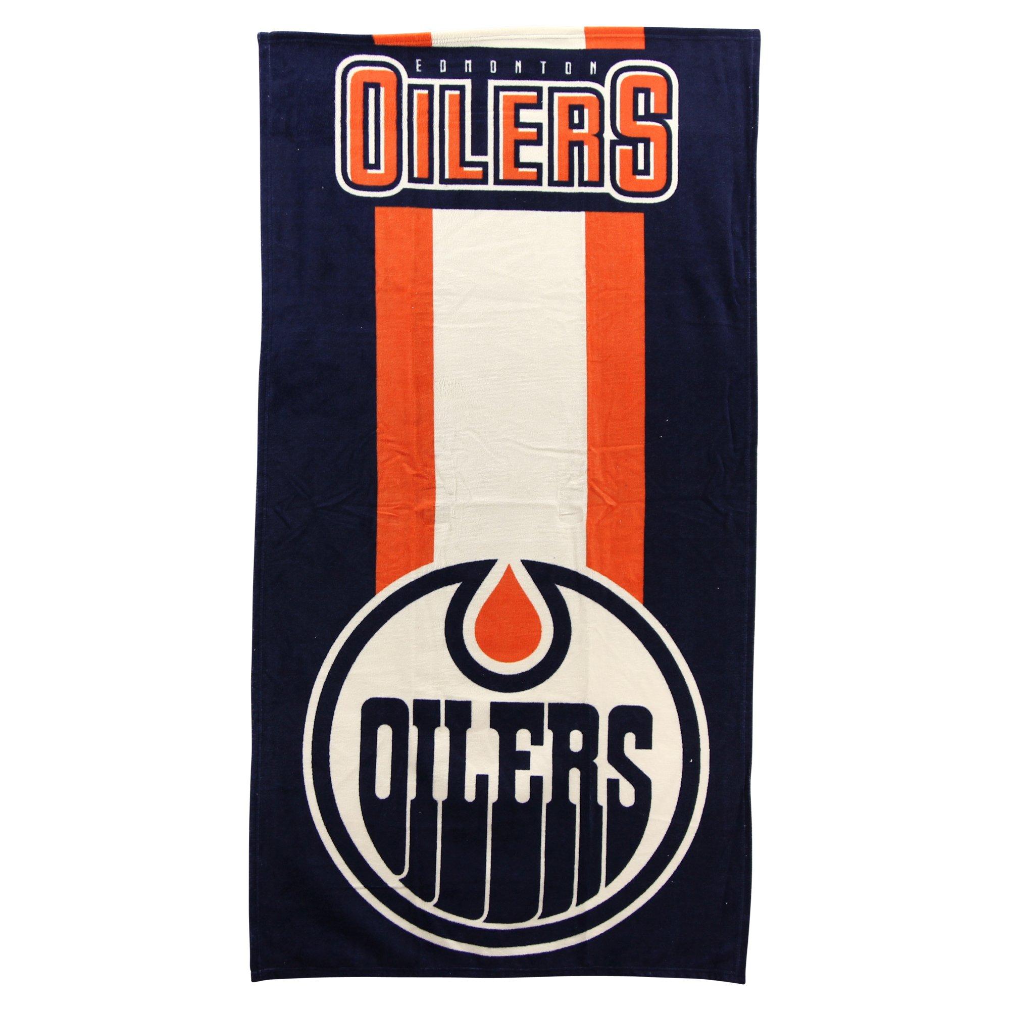 The Northwest Company NHL Zone Read Beach Towel 30'' x 60'' (Edmonton Oilers)