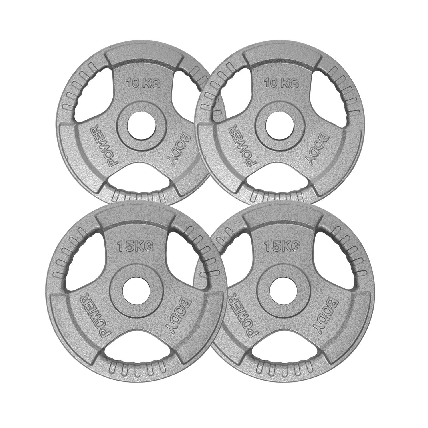 Bodypower Tri Grip Olympic (2 Inch) Disc Kit - 50kg