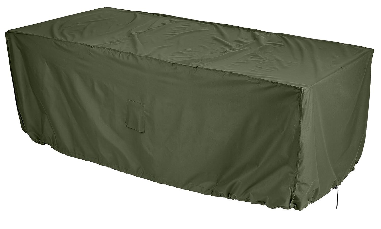 Gardman 34315 Protective Patio Set Cover Medium, Rectangular, Green