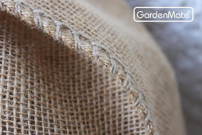 GardenMate 9X Sacchi di Juta Naturale Premium 135 x 65 cm 340gsm