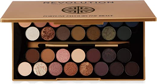 Makeup Revolution BBB Eyeshadow Palette Fortune Favours The Brave Paleta 30 cieni do powiek