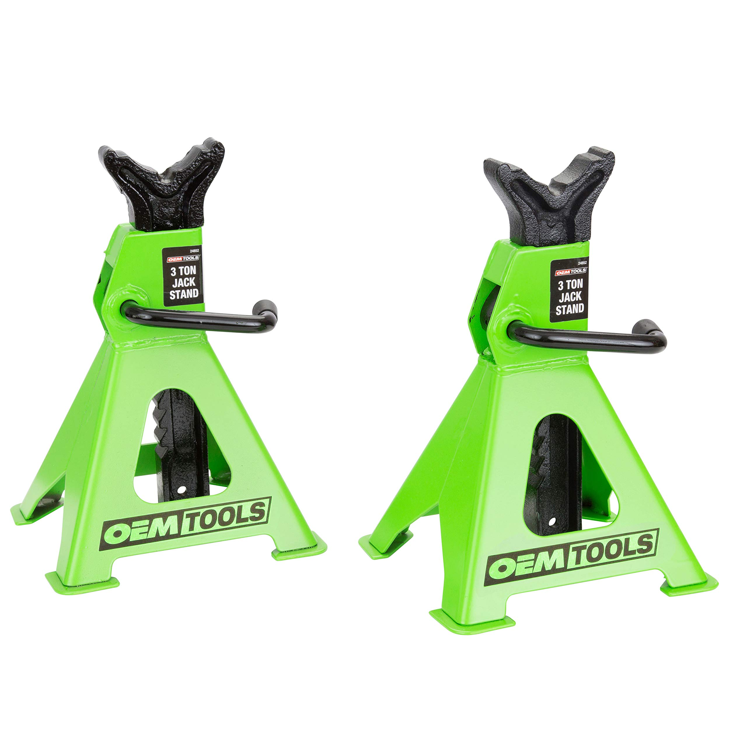 OEMTOOLS 24852 3 Ton Jack Stands (Pair) by OEMTOOLS