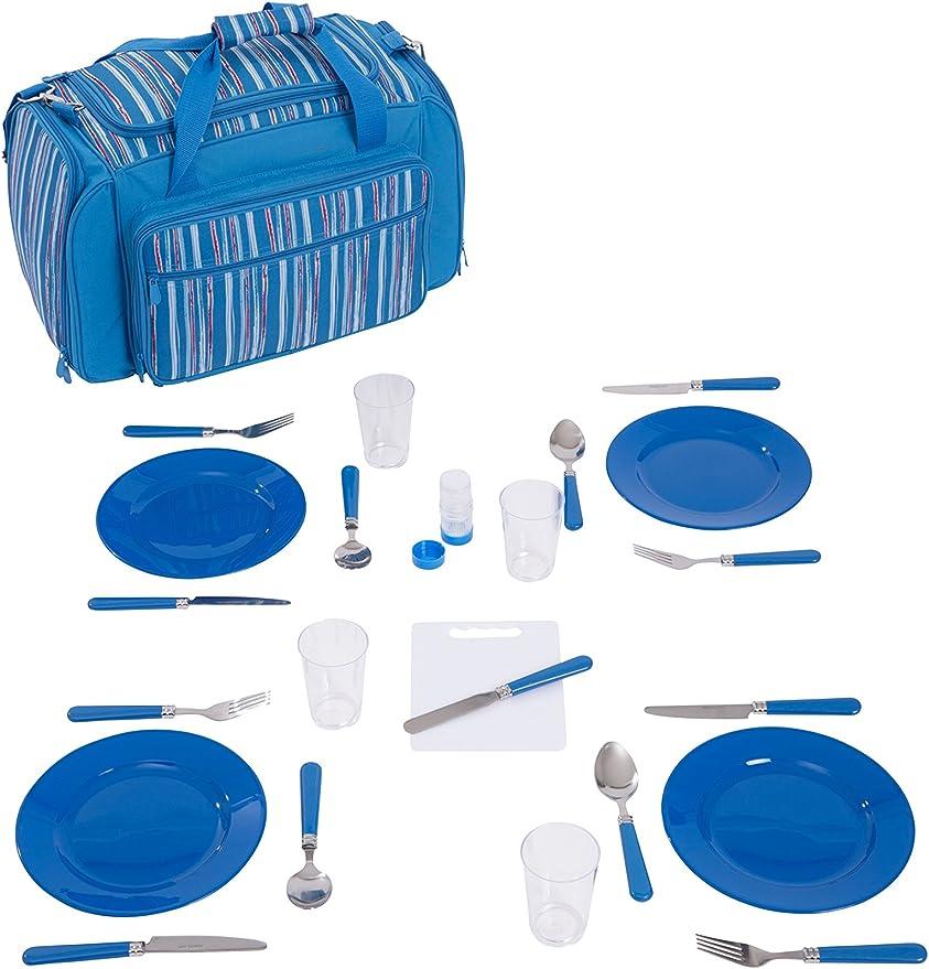 Mountain Warehouse 36 L Picknickkorb für 4 Personen