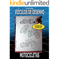 VEÍCULOS DE DESENHO: Desenho motocicletas