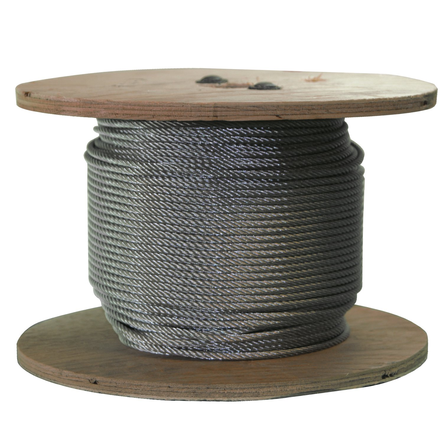 S316250C 250 Ft of Stainless Steel Wire Rope 3/16 inch