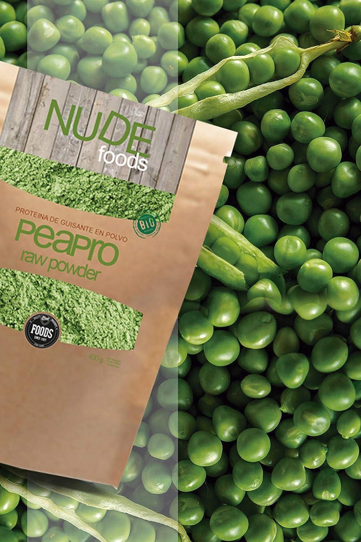 NUDE Foods Pea Protein Ecológico en Polvo sin Sabor ...