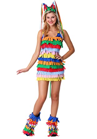 Multicolor Accessories Amscan 397015 Cinco De Mayo Fiesta Colorful Pinata Headband 10 1/4 x 10 1/2