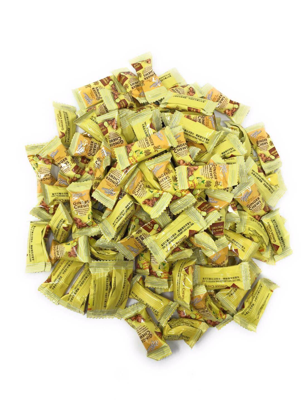 Prince of Peace 100% Natural Ginger Candy - Original & Lemon Mix 1lb - More than 100 + pieces Fusion Select