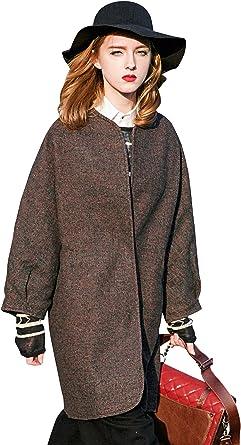 Ladies Fashion Wool Raglan Sleeve Jacket Short Coat