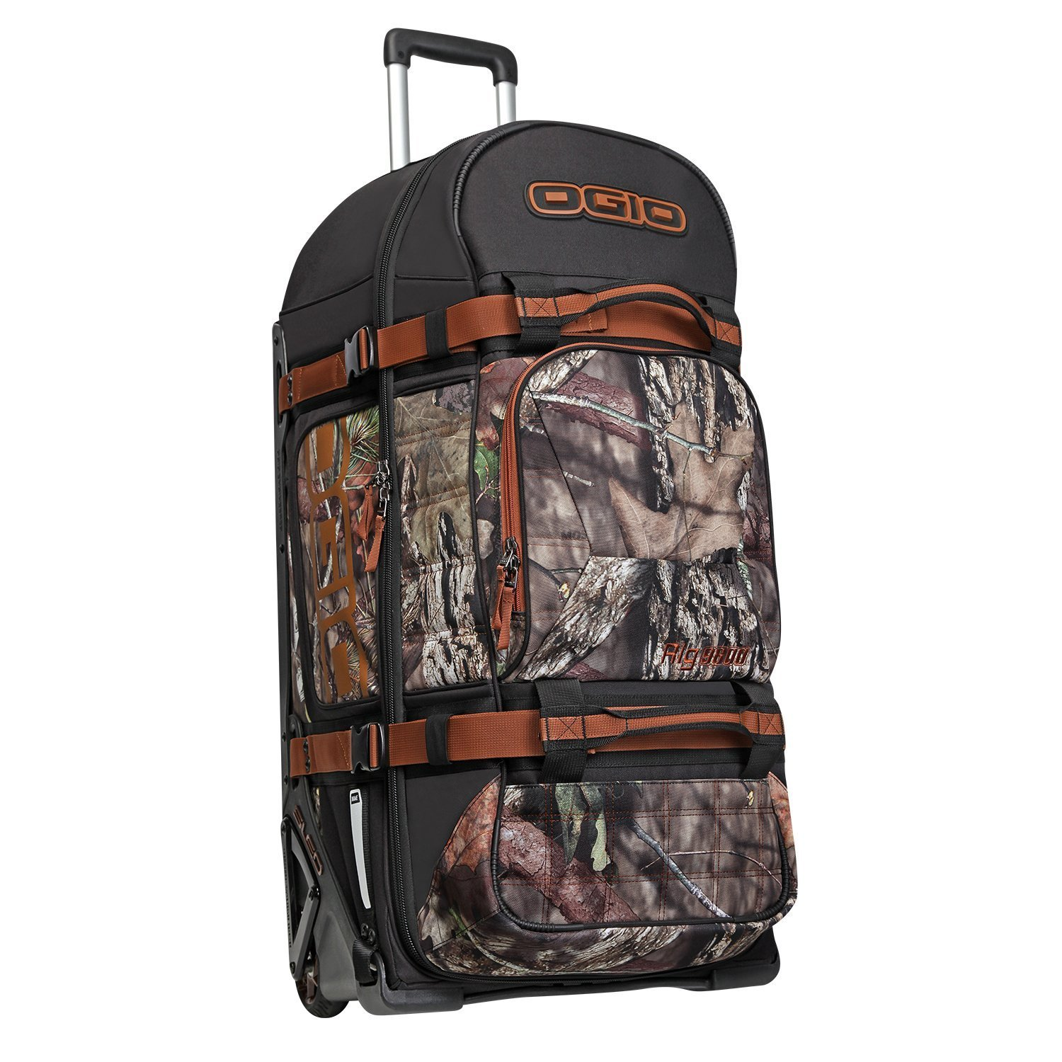 OGIO Rig 9800 Rolling Luggage Bag, Mossy Oak Break-Up Country