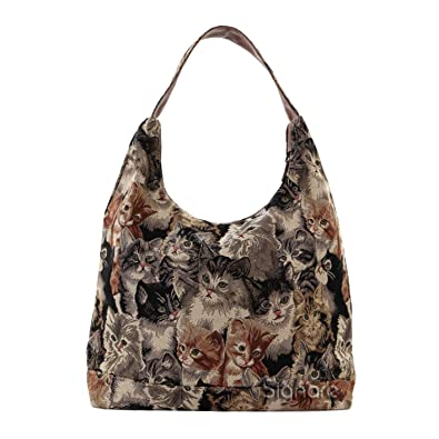 Amazon.com: Signare Womens Tapestry Fashion Shoulder Bag/ Hobo Bag ...
